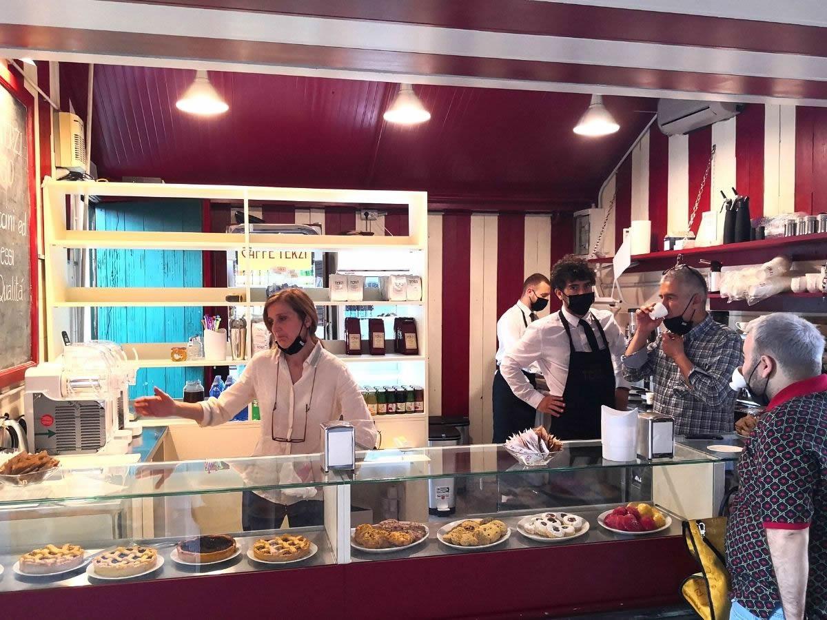 A Bologna apre Terzi To Go, il chiosco per un caffè di qualità